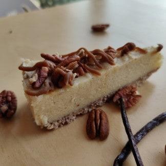 pecan karamel glutenvrij lactosevrij vegan bezorgen klein geluk bakery